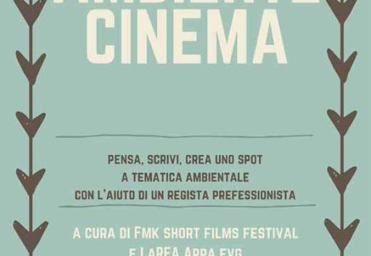 Workshop gratuito Ambiente Cinema